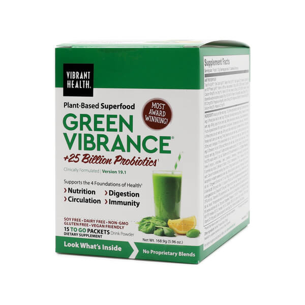 green vibrance powder packets Vibrant Health The Healthy Place Madison WI