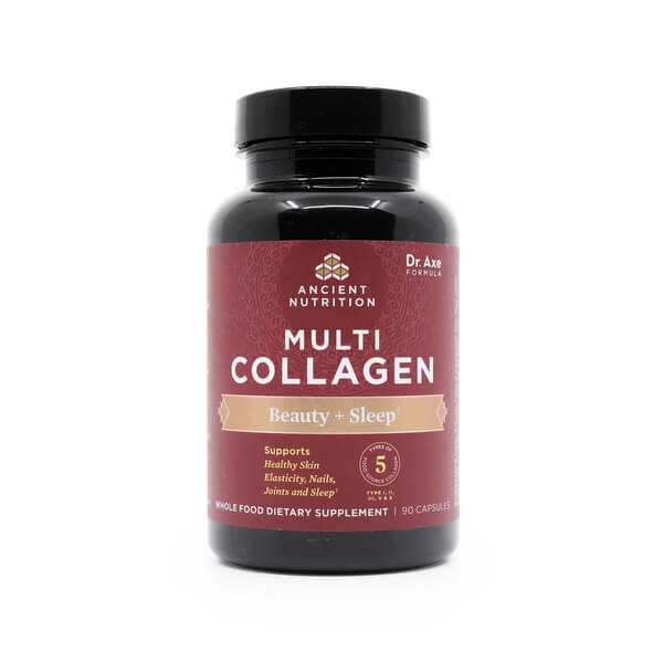 Multi Collagen Beauty Sleep Capsules Ancient Nutrition The Healthy Place Madison WI
