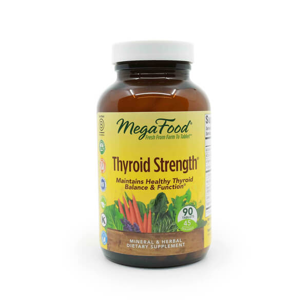 Thyroid Strength MegaFood The Healthy Place Madison WI