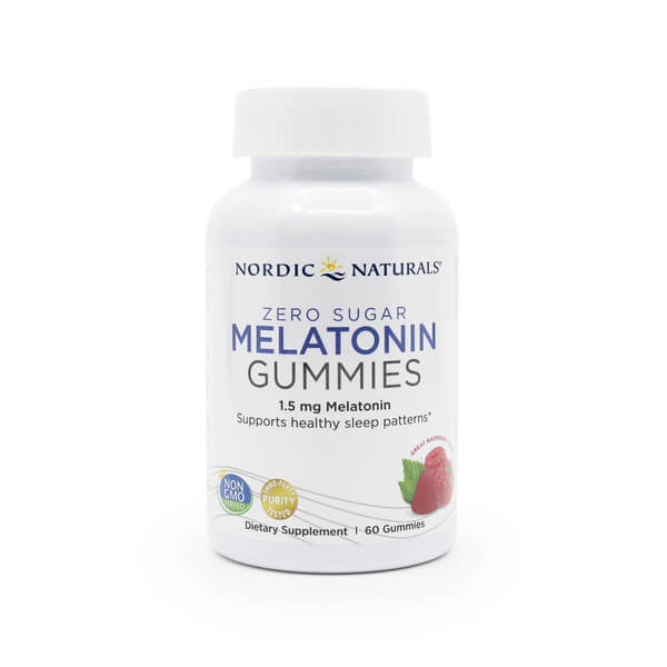 Nordic Naturals Melatonin Gummies Raspberry The Healthy Place Madison WI