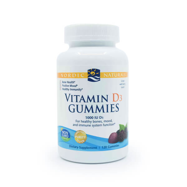 Nordic Naturals Vitamin D3 Gummies The Healthy Place Madison WI