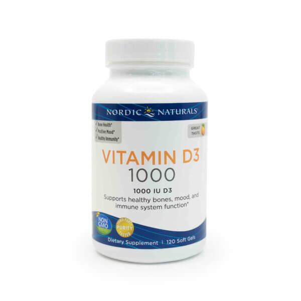 Nordic Naturals Vitamin D3 The Healthy Place Sun Prairie WI