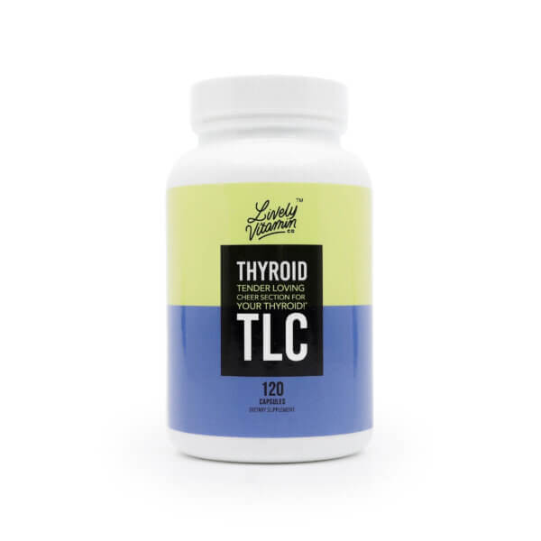 Lively Thyroid TLC 120 capsules