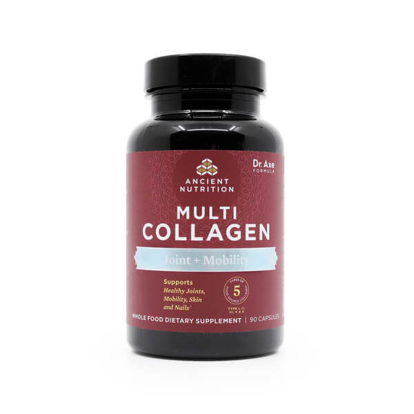 Ancient Nutrition Multi Collagen Capsules Joint + Mobility