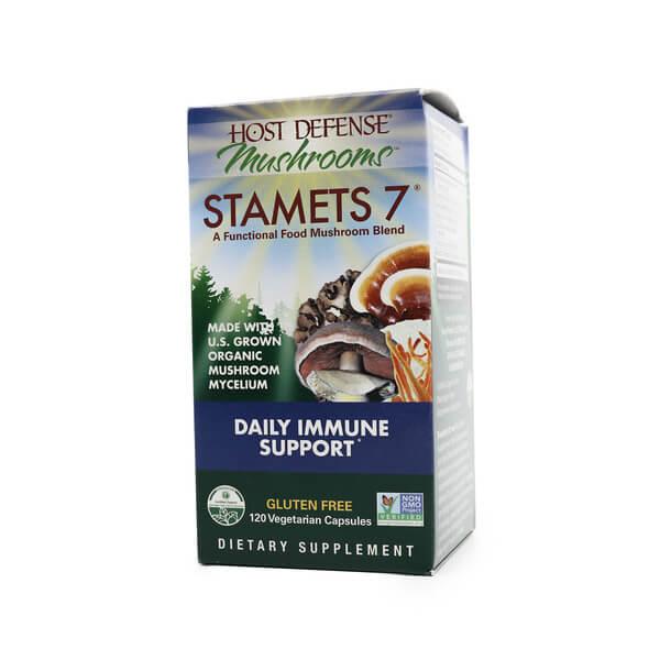 host defense stamets 7 immune support supplement