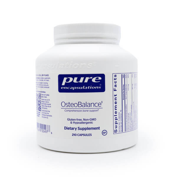 Pure Encapsulations OsteoBalance The Healthy Place Madison WI