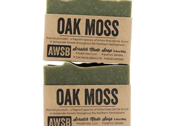 Oak Moss Soap - A Wild Soap Bar Natural Body Care madison wi health and wellness store
