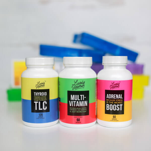 LIvely Vitamin Co. Energy Boost Bundle The Healthy Place Madison WI