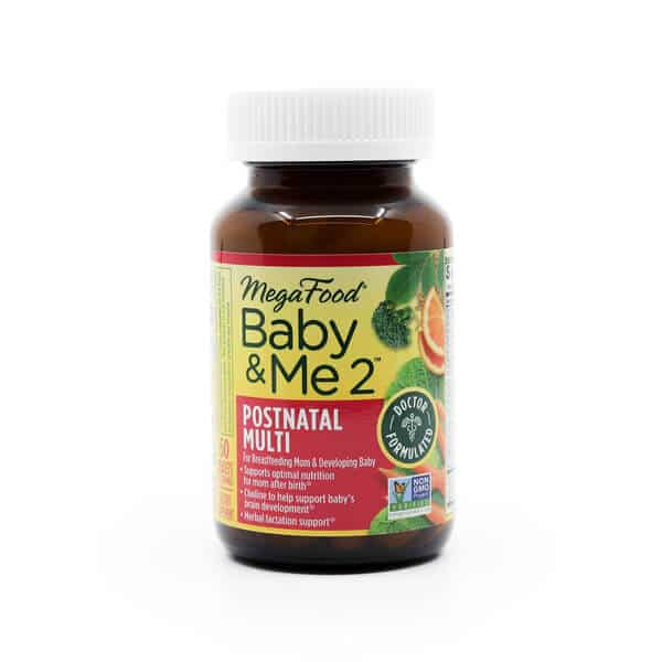 Megafood Baby & Me 2 Postnatal Multi pregnancy and motherhood the healthy place madison wi