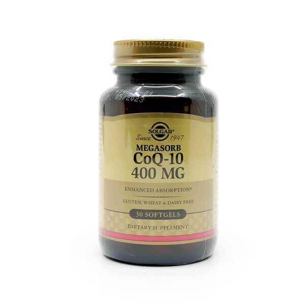 Solgar Megasorb CoQ10 400mg The Healthy Place Madison WI