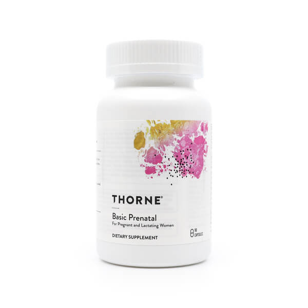 thorne research basic prenatal the healthy place madison wi health food store