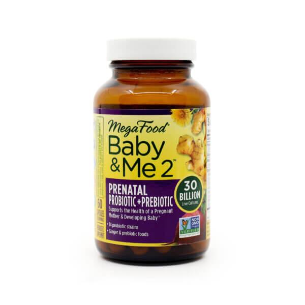 MegaFood Baby&Me 2 Prenatal Probiotic & Prebiotic The Healthy Place Madison WI