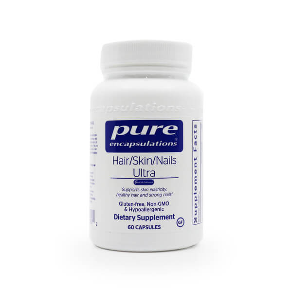 pure encapsulations hair skin nails ultra the healthy place madison wi