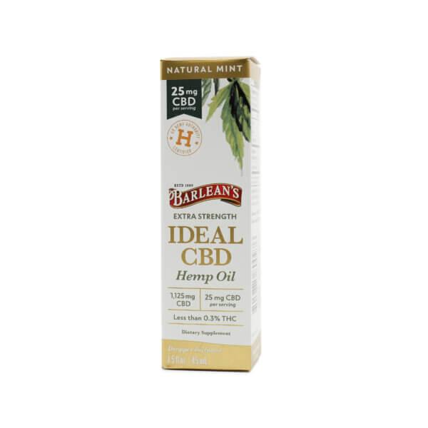 Barlean's Ideal CBD Hemp Oil 25mg Extra Strength buy cbd supplements online madison wi