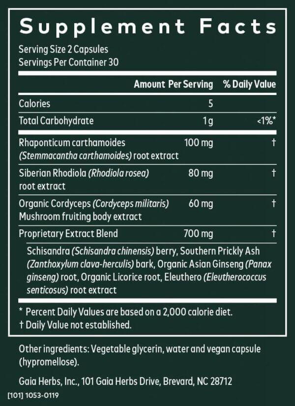 Gaia Herbs Adrenal Health® Jump Start Adrenal health supplements madison wi supplement store