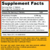 Lively Vitamin Co. CuraRelief Supplement Facts 120 tablets