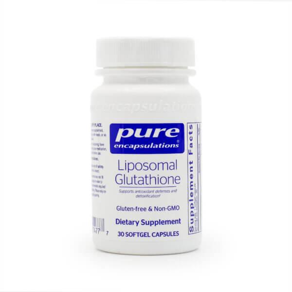 Pure Encapsulations Liposomal Glutathione The Healthy Place Madison WI