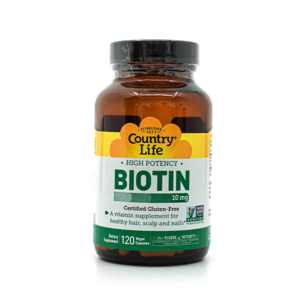 Country Life High Potency Biotin supplement health food store madison wi the healthy place