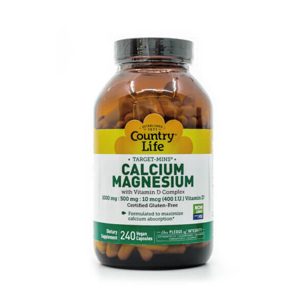 Country Life Calcium Magnesium Complex with Vitamin D3 health food store madison wi the healthy place