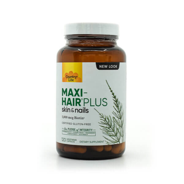 Country Life Maxi-Hair® Plus hair growth strong nails healthy skin multivitamin health food store madison wi