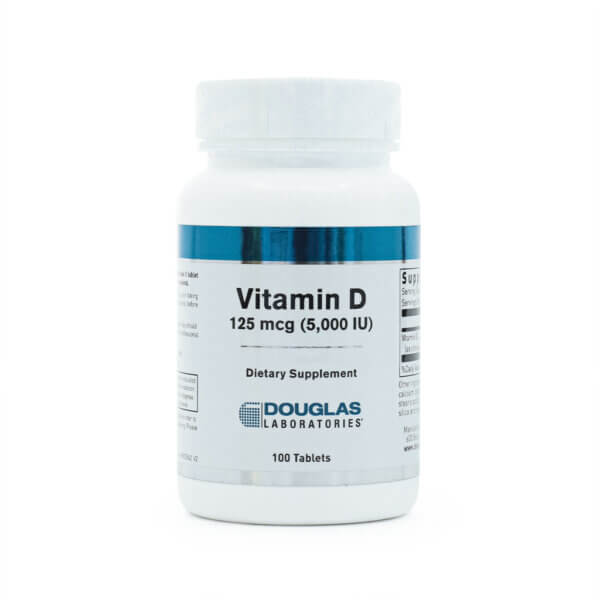 Douglas Laboratories Vitamin D 5,000IU vitamin supplements health food store madison wi the healthy place