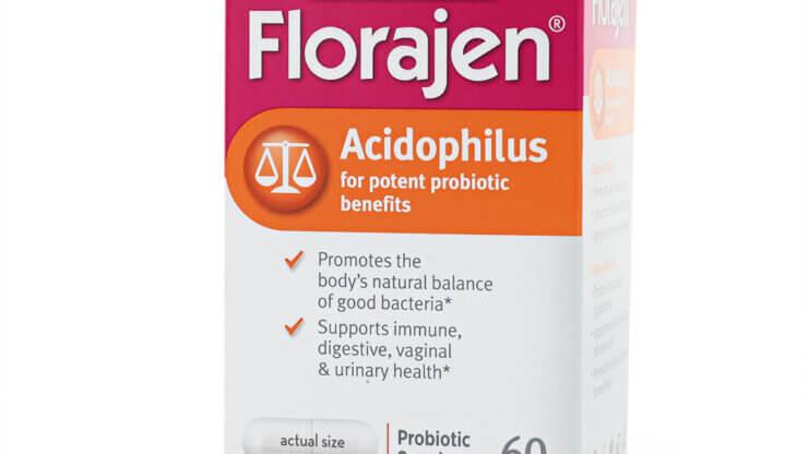 Florajen Acidophilus 20 billion probiotics supplements store madison wi the healthy place
