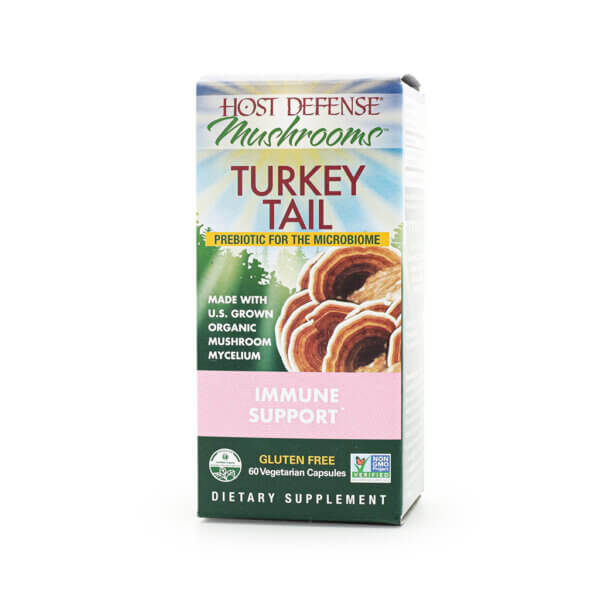 Host Defense Turkey Tail supplement mushroom supplements store madison wi the healthy place