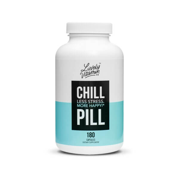 Lively Vitamin Co. Chill Pill The Healthy Place Madison WI