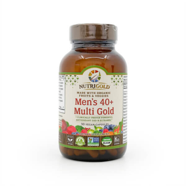 NutriGold Men's 40 Plus Multi Gold The Healthy Place Madison WI