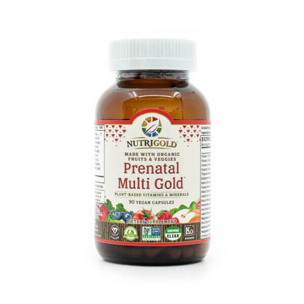 NutriGold Prenatal Multi Gold The Healthy Place Madison WI