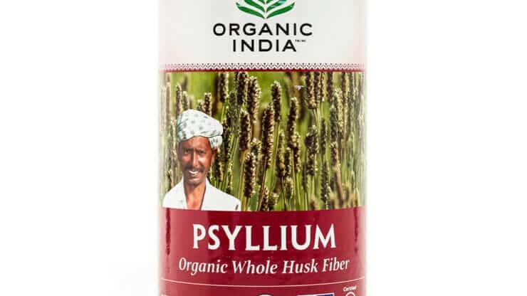 Organic India Whole Husk Psyllium digestion fiber supplement health food store madison wi
