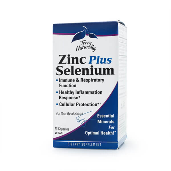 Terry Naturally Zinc Plus Selenium mineral supplements health food store madison wi the healthy place