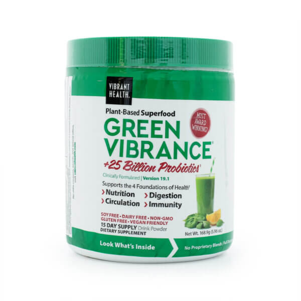 Vibrant Health Green Vibrance powder The Healthy Place Madison WI