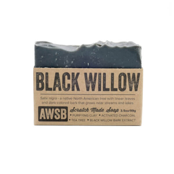 A Wild Soap Bar Black Willow Soap natural skincare products madison wi health and wellness store