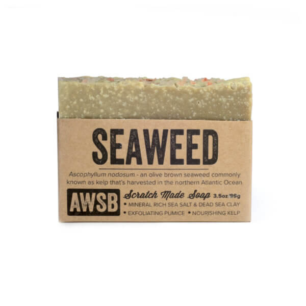 A Wild Soap Bar Seaweed Soap buy online natural skincare