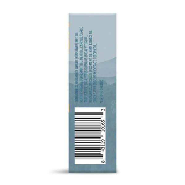 Charlotte's Web Peppermint Hemp Infused Roll-On with CBD 100mg eucalyptus rosemary hemp stress relief sleep aid health food store madison wi
