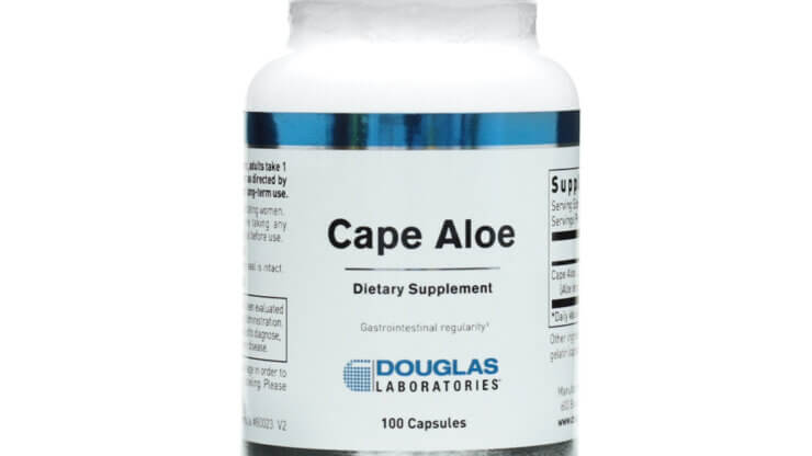 Douglas Laboratories Cape Aloe natural laxative alternative laxative supplement for constipation supplement store madison wi the healthy place
