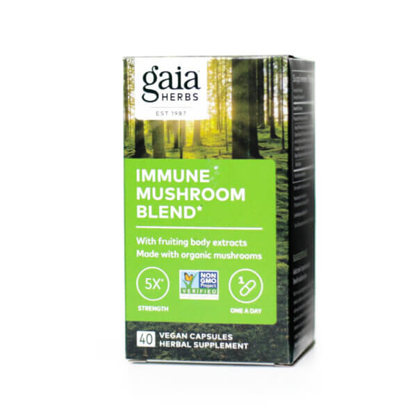 Gaia Herbs Immune Mushroom Blend mushroom supplements store madison wi the healthy place
