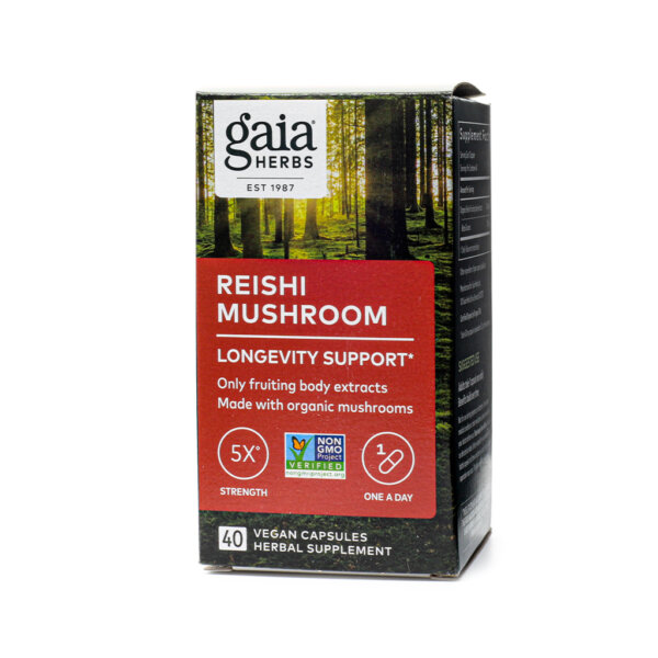 Gaia Herbs Reishi Mushroom Supplement store madison wi the healthy place