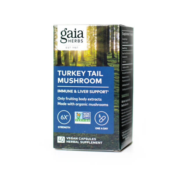 Gaia Herbs Turkey Tail Mushroom supplement store madison wi the healthy place