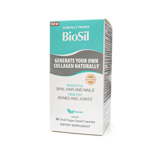 Natural Factors 5mg BioSil Skin, Hair & Nails The Healthy Place Madison WI