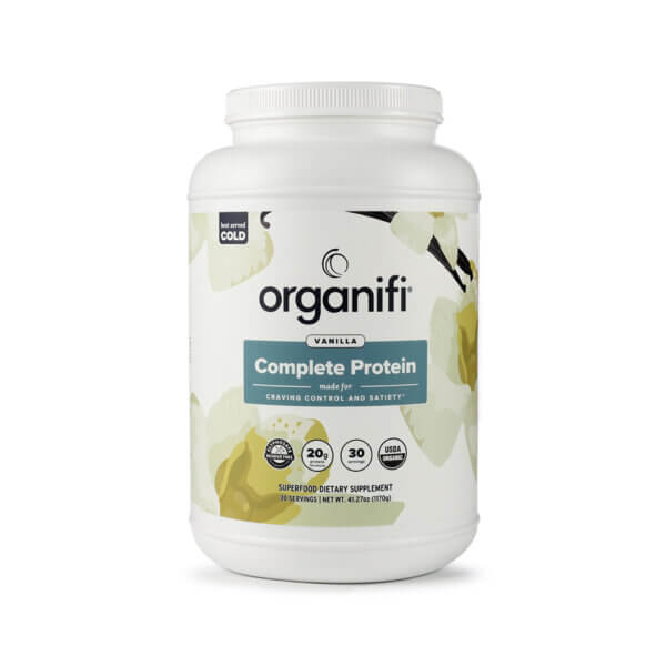 Organifi Vanilla Protein The Healthy Place Madison WI
