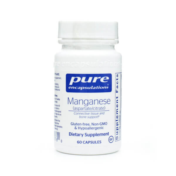 pure encapsulations manganese supplement store the healthy place madison wi