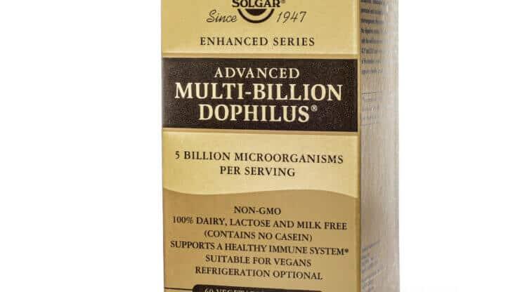 Solgar Advanced Multi-Billion Dophilus® probiotic supplement store madison wi the healthy place