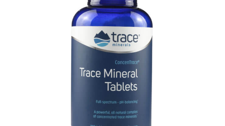 ConcenTrace Trace Mineral Tablets mineral supplements store madison wi the healthy place