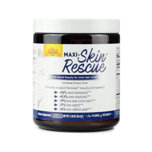 country life maxi-skin rescue powder natural beauty supplements for skin health the healthy place madison wi