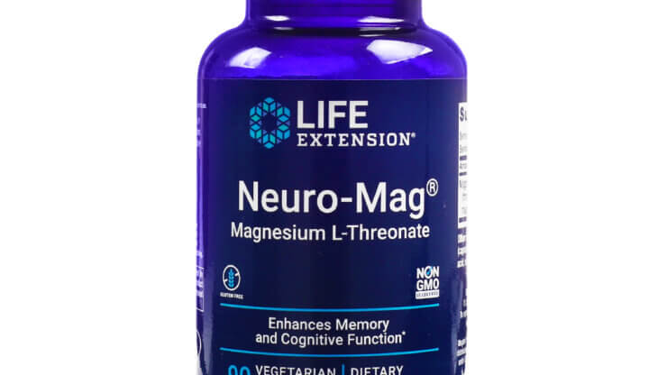 Life Extension Neuro-Mag Magnesium L-Threonate supplements for focus and concentration supplements store madison wi the healthy place
