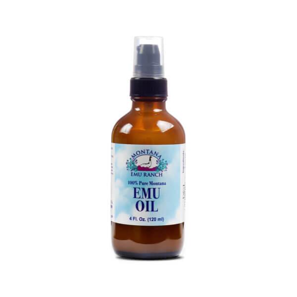 Montana Emu Ranch 100% Pure Emu Oil skin oil hair moisturizer health food store madison wi