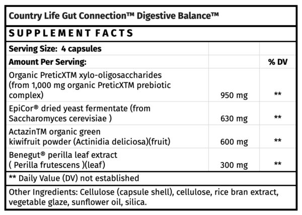 Country Life Gut Connection™ Digestive Balance™ digestive health supplements for digestion health food store madison wi