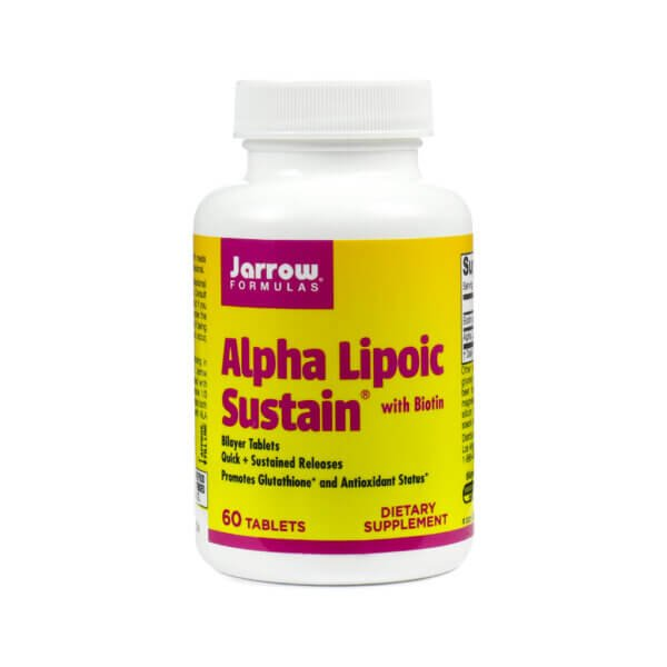 Jarrow Formulas Alpha Lipoic Sustain ALA Supplement store madison wi the healthy place